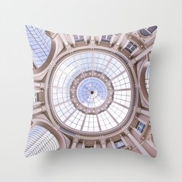 Along The Passage And The Spectacular Dome Throw Pillow