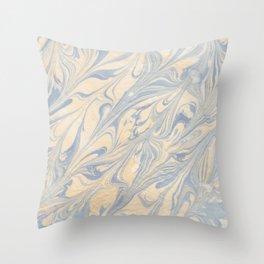 marbling nº1 Throw Pillow