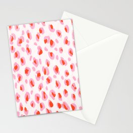 Pink Leopard Stationery Cards