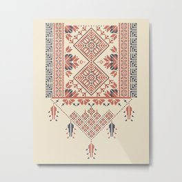Palestina pattern Metal Print