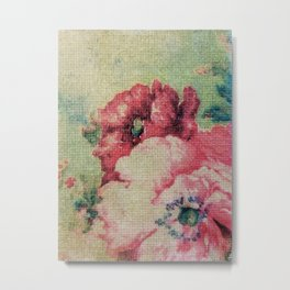 Tapestry - Original Art - Mixed Media Metal Print
