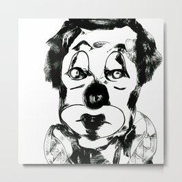Clown2 Metal Print