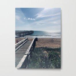 Beach Views Metal Print