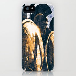 Battles of ancient Sparta iPhone Case