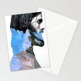 Iceman_blue Stationery Cards