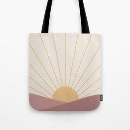 Morning Light - Pink Tote Bag