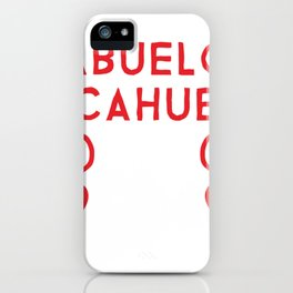 Abuelo Alcahuete for Hispanic Grandfathers iPhone Case