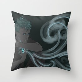 The Magic of the Tides Protects Me Throw Pillow