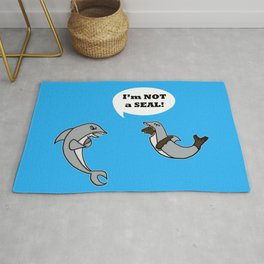 I'm Not A Seal! Rug
