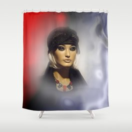 in the showcase -2- Shower Curtain