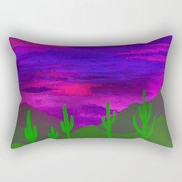Saguaros Illuminated Rectangular Pillow