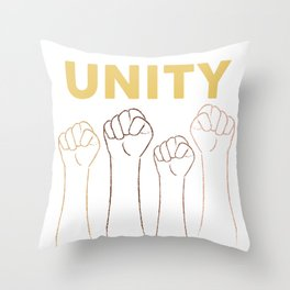 Unity One Throw Pillow
