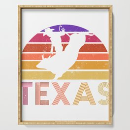 Texas State Country Retro Vintage Serving Tray