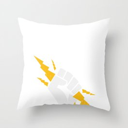 Union Strong and Solidarity  - Union Thug Electrician Throw Pillow