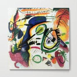 Wassily Kandinsky Fragment I for Composition VII Metal Print