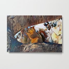 Tree top scoundrel Metal Print