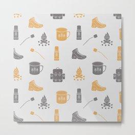 Camping (Pollen) Metal Print