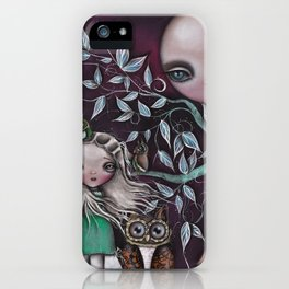 Night Creatures iPhone Case