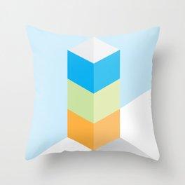 The Geometric - One Throw Pillow