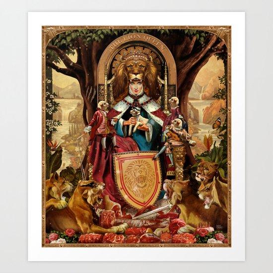 The Lion Queen by jeffdrewpictures