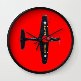 Poppy Tucano Wall Clock