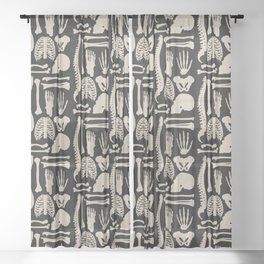 Osteology Sheer Curtain