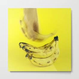 Grab a banana Metal Print
