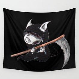Piggy Reaper Wall Tapestry