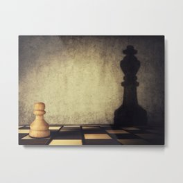 pawn aspiration Metal Print