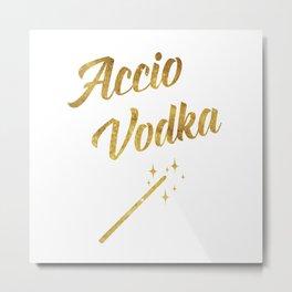 Accio Vodka Metal Print