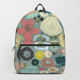 oriental blooms Backpack