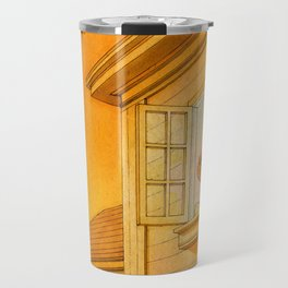 Wildfire Orange Travel Mug