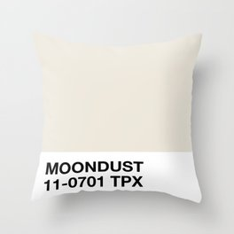moondust Throw Pillow