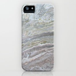 Gold, White, Grey, and Pink iPhone Case