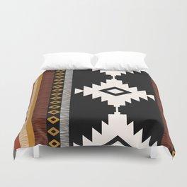 Pueblo in Sienna Duvet Cover