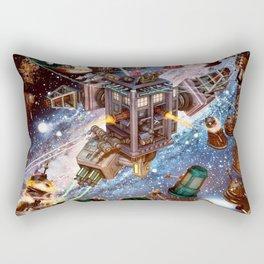 The Battle Of Tardis Art Rectangular Pillow