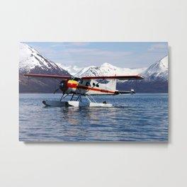 Beaver Float Plane Photography Print Metal Print