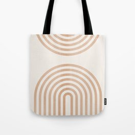 Rainbow lines Tote Bag