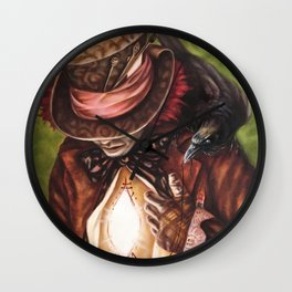 The Hatter's Search Wall Clock
