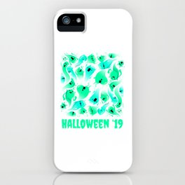 Ghost Halloween design for Trick or Treating Cute Gift Tee product iPhone Case
