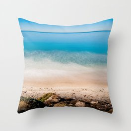 Land And Water Throw Pillow