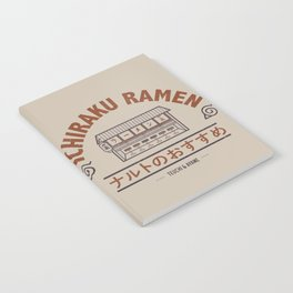 Ichiraku Ramen Japanese Notebook