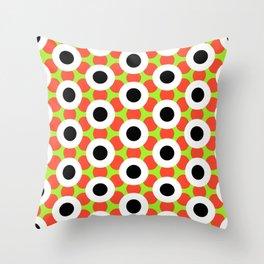 Modern Times 2.0 Pattern - Design No. 9 Throw Pillow