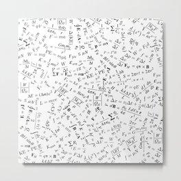 Equation Overload II Metal Print
