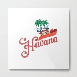 Havana Cuba Metal Print