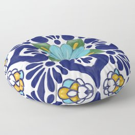 talavera tile 2 Floor Pillow