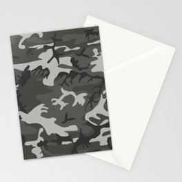 Classic Camouflage Artwork Stationery Cards