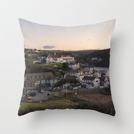 Hope Cove Twylight Throw Pillow