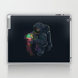 astronaut jellyfish space digital art Laptop & iPad Skin