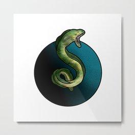 Moray Eel Metal Print